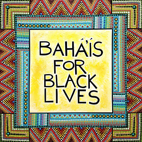 Baha'is For Black Lives Magnets & Window Clings
