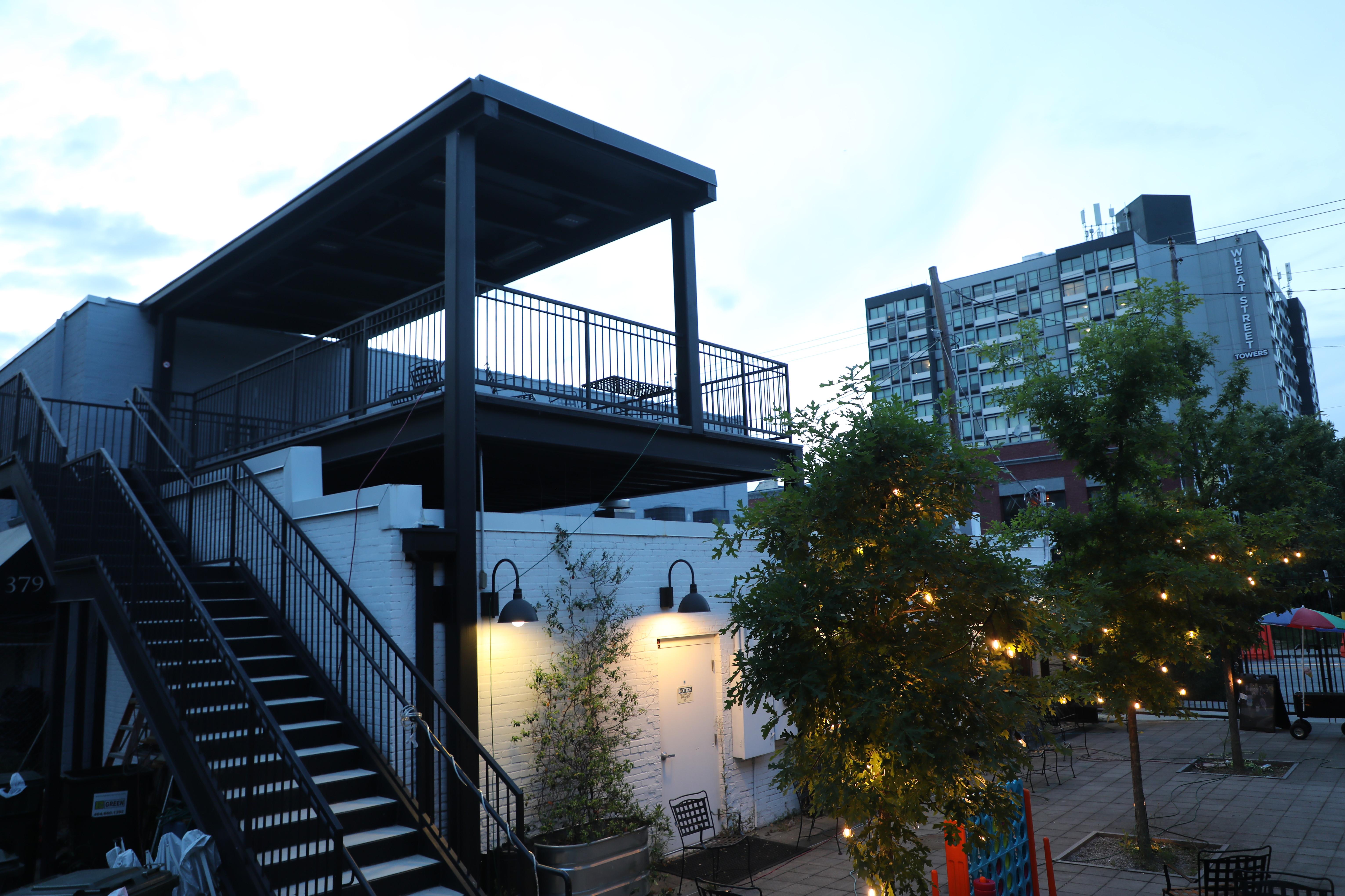 Rooftop Food Vending on Edgewood