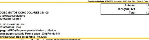 メキシコ会計税務(その3) Factura(ファクトゥーラ)