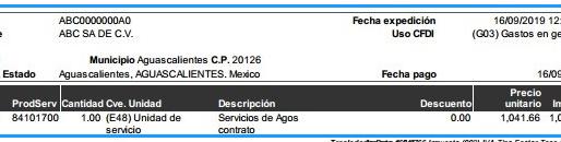 メキシコ会計税務(その2) Factura(ファクトゥーラ)