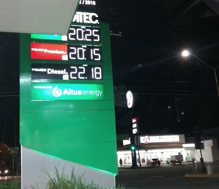 ガソリンスタンドの値段