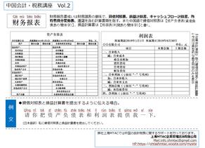 一言中国語レッスンVol.2【財務報表】