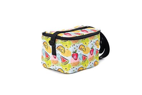 Boîte à lunch Alice (Sans napperon) - Motifs Fruits - Motifs Roses