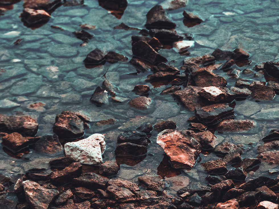 Peaceful and contemplative stream