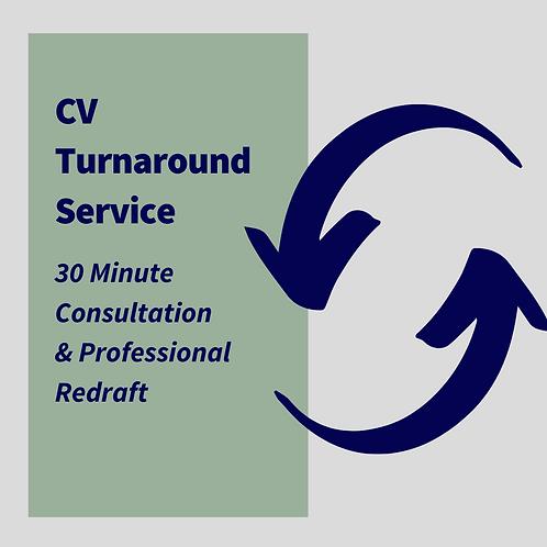 CV Turnaround Service