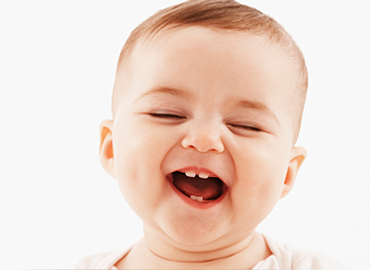 Bebezinho sorrindo