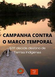 Campanha contra o Marco Temporal