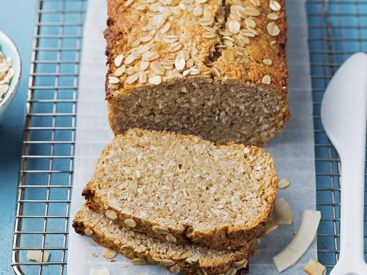 Pão de Aveia Vegano