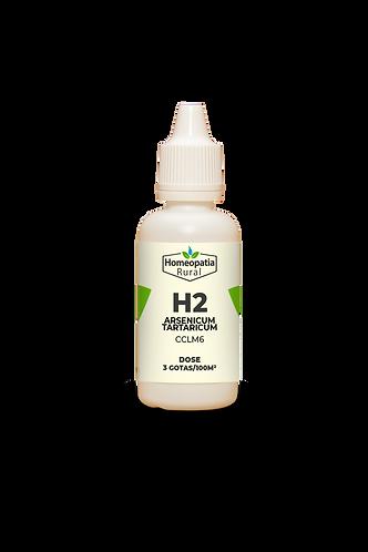 H2 - ARSENICUM TARTARICUM