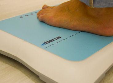 balança de pés