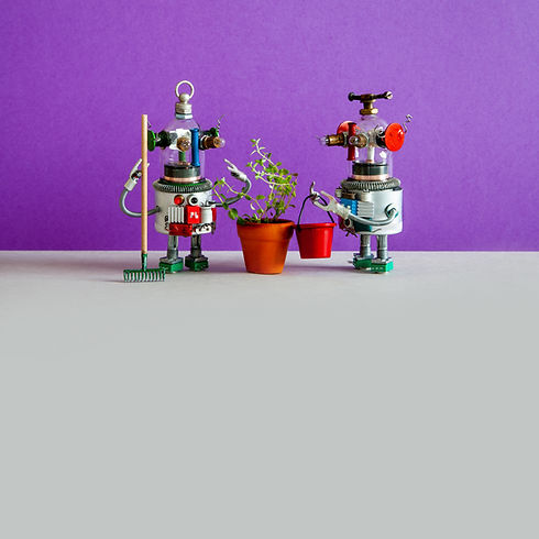 two-agronomist-gardener-robots-and-culti