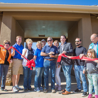 Granville's New Clubhouse Ribbon Cutting