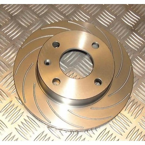 Nitrac Front Brake Discs for R56 JCW (12 Groove)
