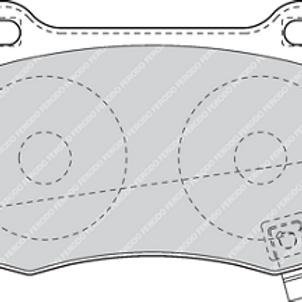 Ferodo DS2500 Brake Pads for MINI R56 JCW
