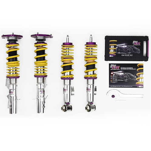 KW Clubsport 2-Way Coilovers for BMW E46 Non-M