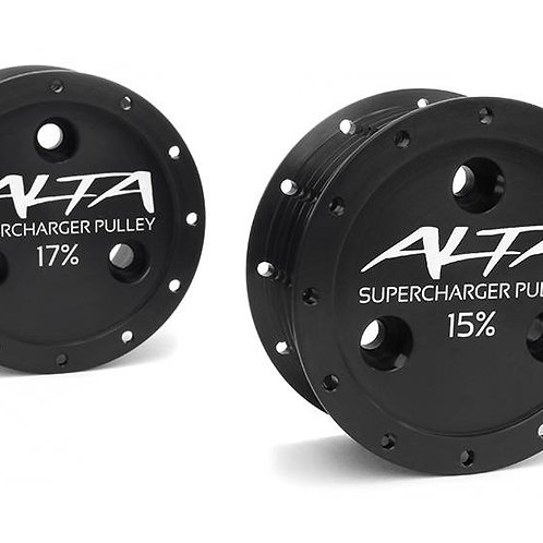 Alta Reduced Supercharger Pulley