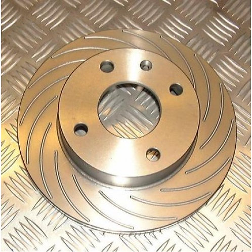 Nitrac Front Discs for R56 JCW (16 Groove)