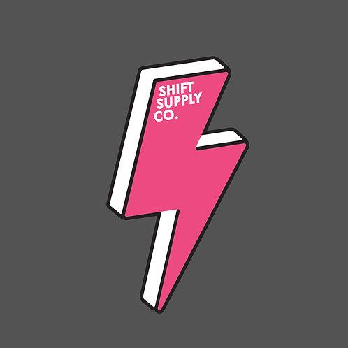 Shift Supply Co Sticker