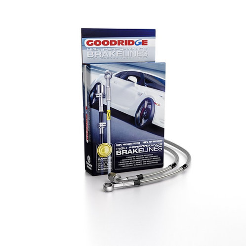 Goodridge Braided Brake Lines for BMW 3 Series E46