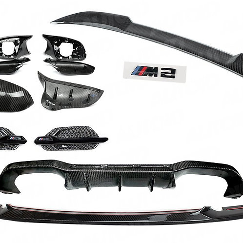 CARBON PACK FOR BMW M2 (2015-2018, F87)