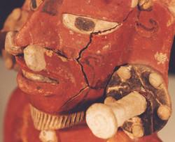Détail Jaguar Pawn Maya avant traitements