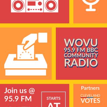 WOUV Radio Promo Flyer