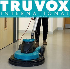 We use professional Truvox floor cleaning machines