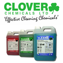 We use professional Clover cleaning products