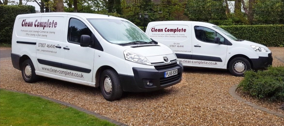 Clean Complete cleaning vans