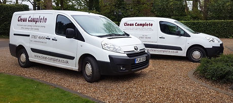 Clean Complete vans