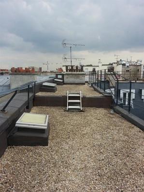 AVANT / Rooftop avant aménagement