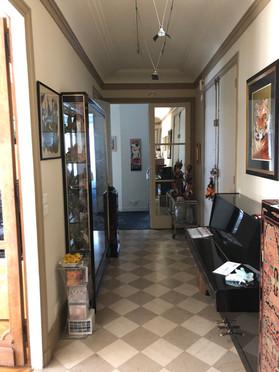galerie d'entrée avant travaux