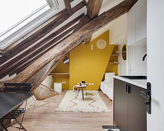 studio sous les toits