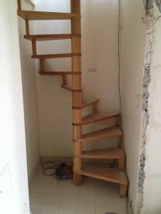 PENDANT / Suppression de l'escalier à vis