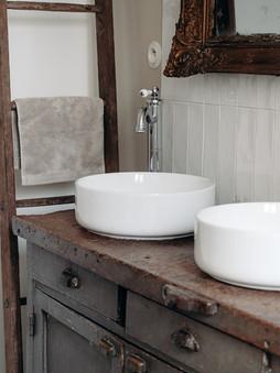 détail salle de bain familiale