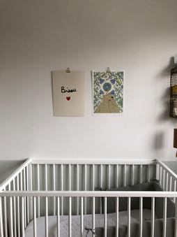 détail chambre bébé