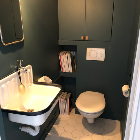 petit coin coin / toilettes