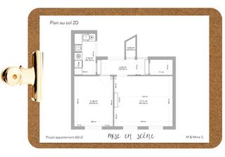 Plan au sol 2D