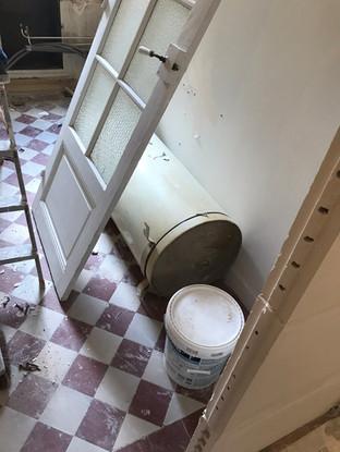 carrelage conservé pour la cuisine