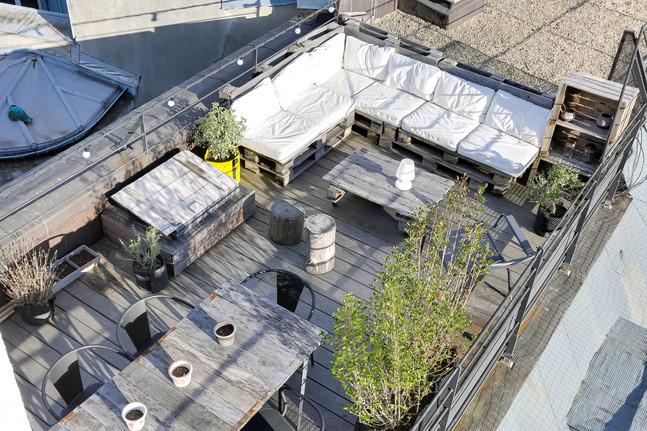 Rooftop après aménagement