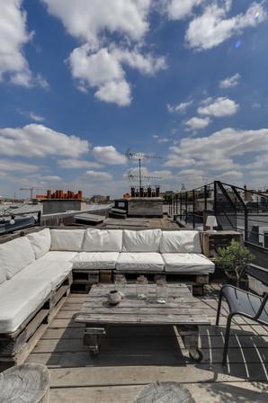 Rooftop sur les toits de Paris
