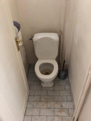 petit coin WC avant travaux
