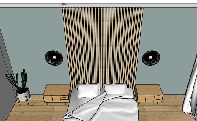 3D claustra sur mesure chambre parentale