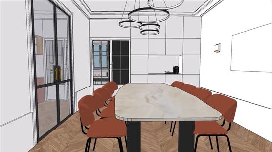 3D salle de réunion