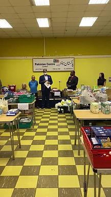 Brent Mayor Cllr. Ezeajughi visits Mutual Aid Food Willesden
