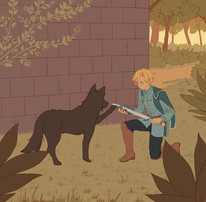the guardians: landon & kosmo