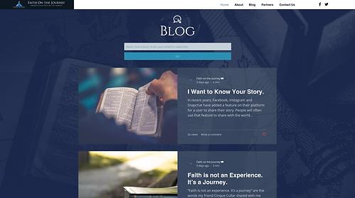 Faith On The Journey Case Study