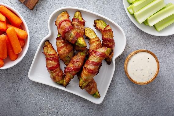 Bacon Avocado Fries
