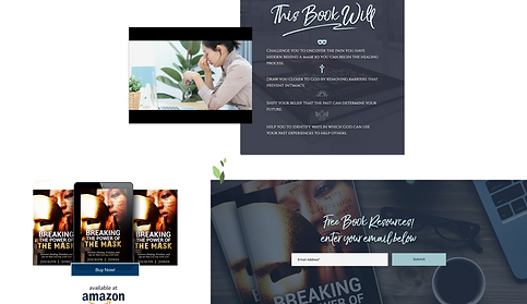 773Designs - Jocelyn J. Jones Website Case Study