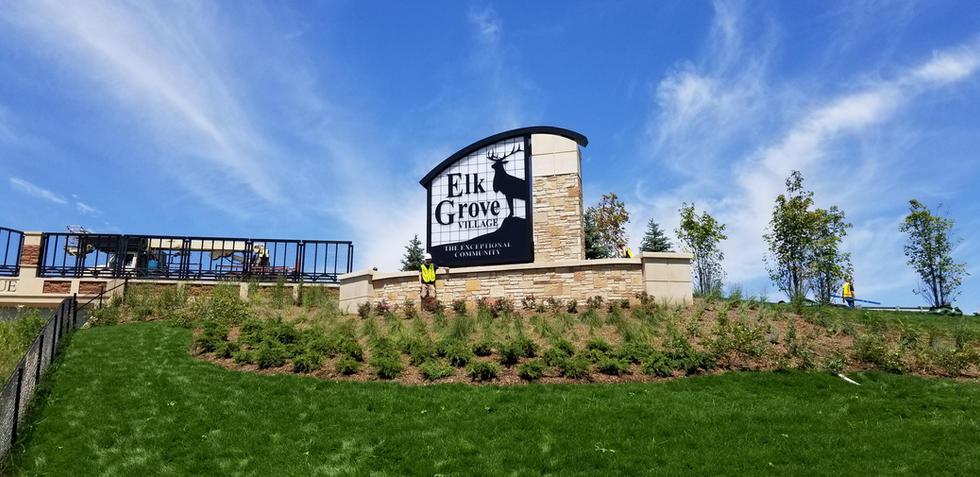 Elk Grove Village Rebranding